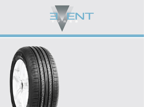 """EVENT Ένας μεγάλος παίχτης με μεγάλη γκάμα ελαστικών για επιβατικά – 4Χ4 – SUV-ελαφρά φορτηγά. Χρησιμοποιώντας τα καλύτερα υλικά και εξελιγμένους  τρόπους κατασκευής , η """"EVENT"""" παρέχει άριστη ποιότητα και ελκυστικές τιμές. Δίνει την δυνατότητα στον επαγγελματία για μία αξιόπιστη προϊοντική και τιμολογιακή πρόταση και στον τελικό καταναλωτή μία άριστη επιλογή σε χαμηλό κόστος."""